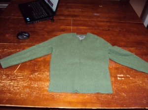 Used Felted Wool Sweater