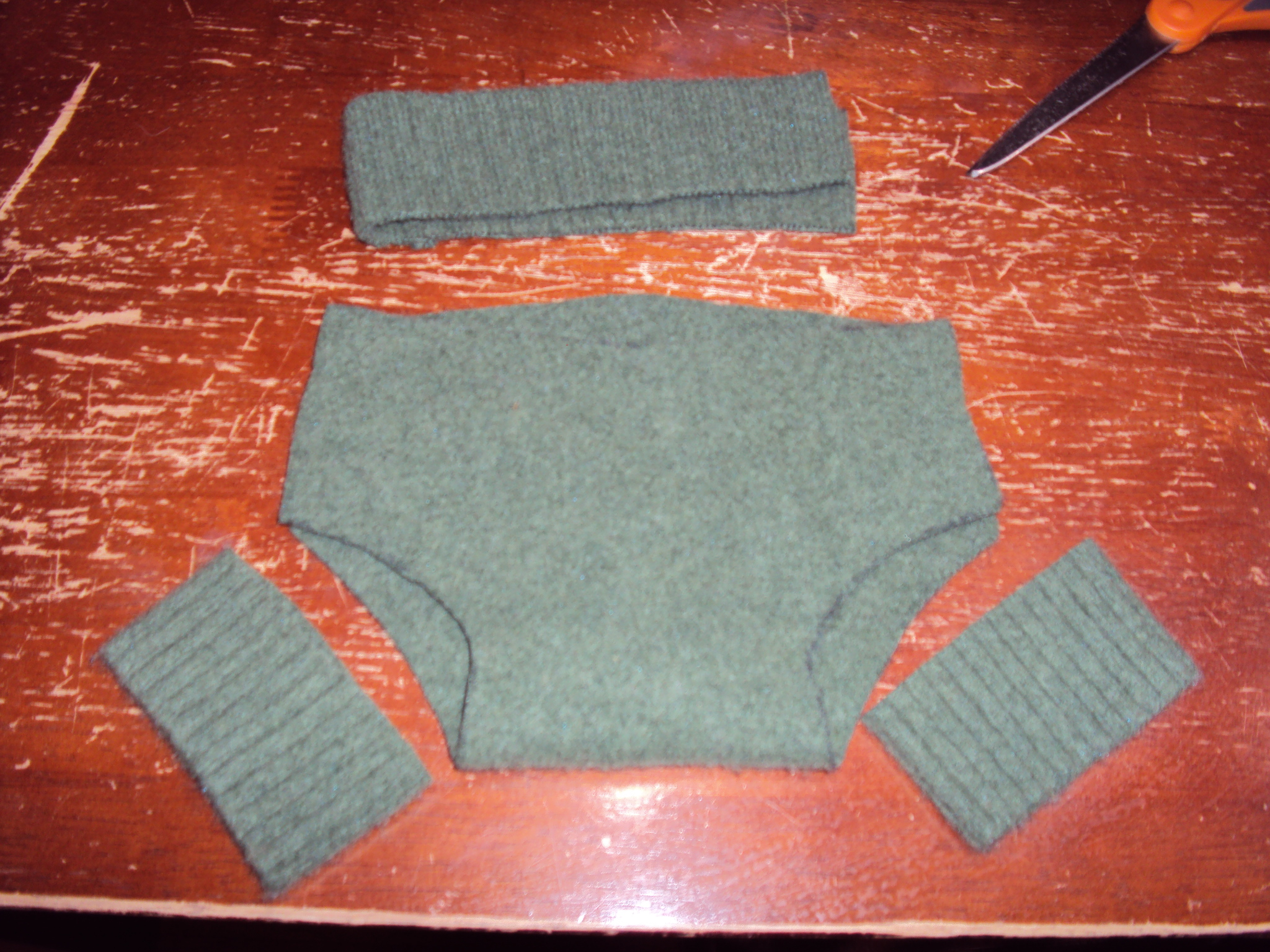 Diy Wool Diaper Soakers Scrimply Thrifty